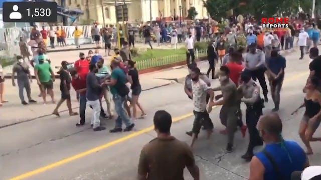 Bishops in Cuba defend protesters' ri...