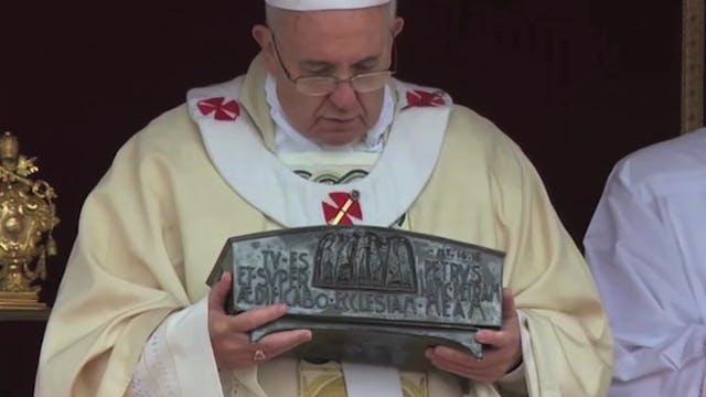 El Papa explica el significado de las...