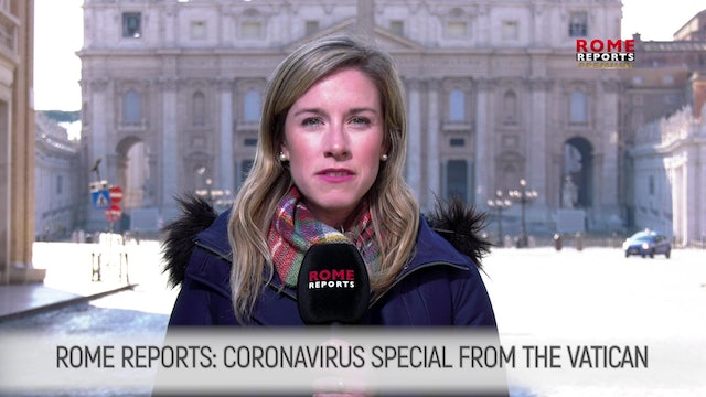 CORONAVIRUS SPECIAL: Homeless are only ones left in St. Peter's Square