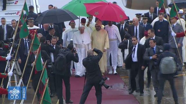 El Papa Francisco llega a Marruecos