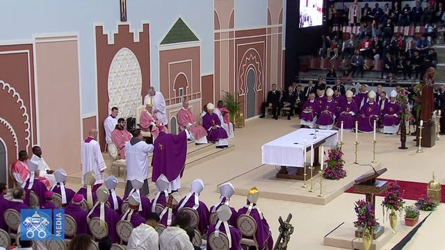 Pope in Morocco: hatred and revenge o...