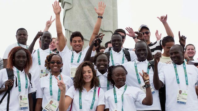 Refugee Olympic Team goes for gold in...