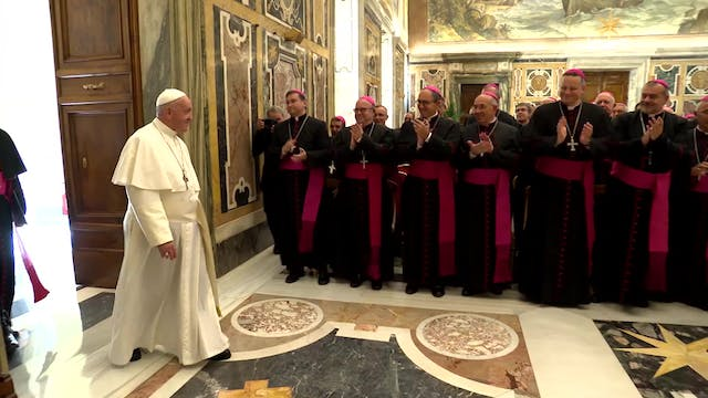 Pope Francis' steps to live out the r...