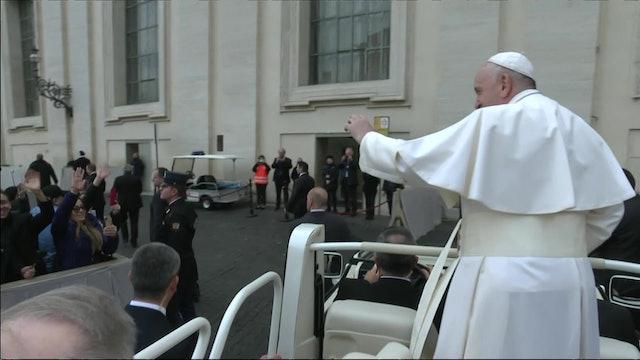 El Papa Francisco envió mensaje a los enfermos por el coronavirus