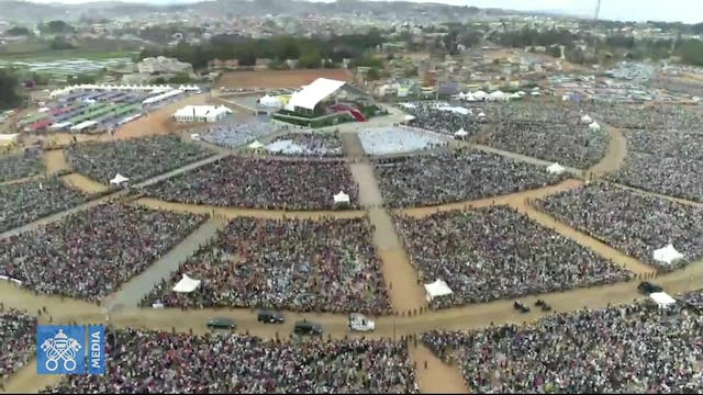 Pope celebrates Mass in Madagascar: L...