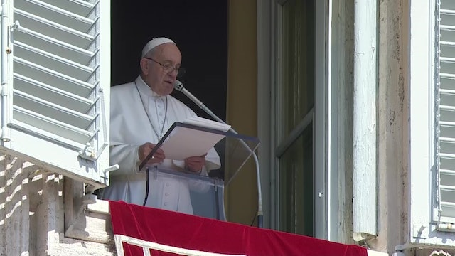 Pope in Angelus: let fall from our hands the stones of condemnation and gossip
