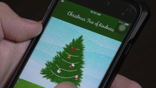 """Christmas Tree of Kindness,"" app that promotes good deeds during Advent"