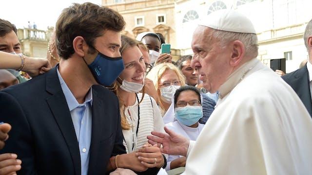 Dos consejos del Papa para los recién...