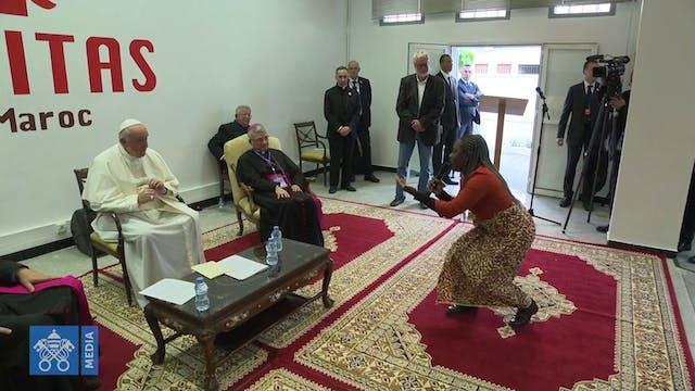 Francisco en Cáritas: Las expulsiones...