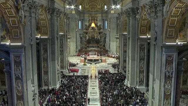 Papa celebrará oficios de Semana Santa en basílica de San Pedro y sin peregrinos
