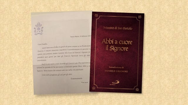 Papa envía un libro a la Curia Vatica...