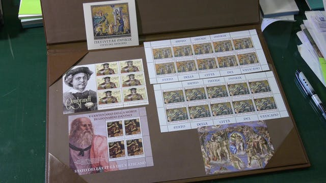 After 80 years, Vatican stamps and co...