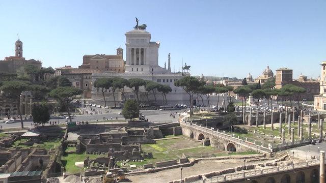 Un espectacular recorrido interactivo muestra aspecto de los foros romanos