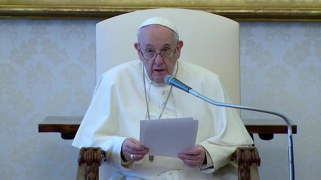 "Pope Francis: ""Contemplative prayer i..."