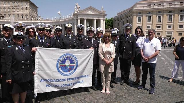 Policía local italiana al Papa: Queremos proteger a los humildes y necesitados