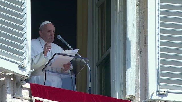 El Papa celebra el intercambio de pre...