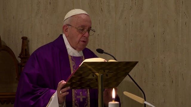Pope in Santa Marta: Pray to the Lord...
