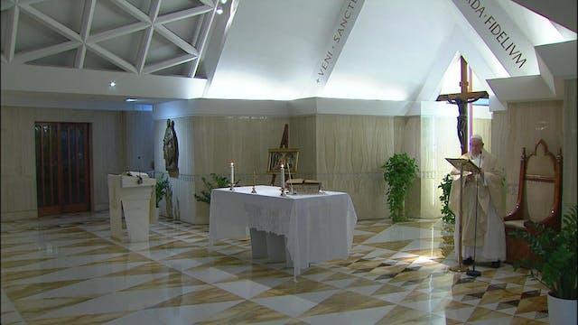 Papa reza por las monjas que están cu...