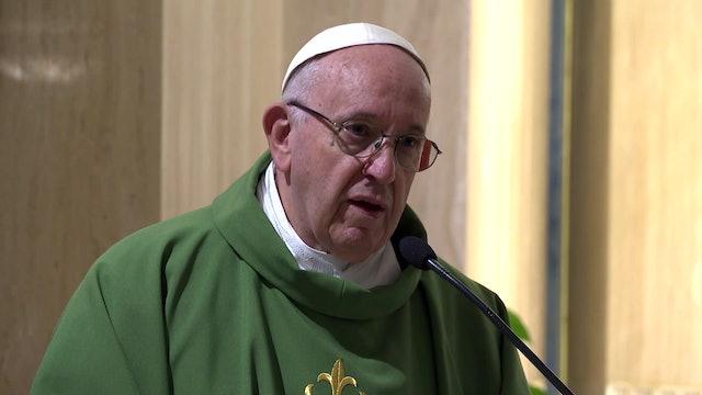 Papa en Santa Marta: ¿Trabajas de modo coherente con tu fe?