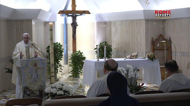Papa en Santa Marta: Debemos tener má...