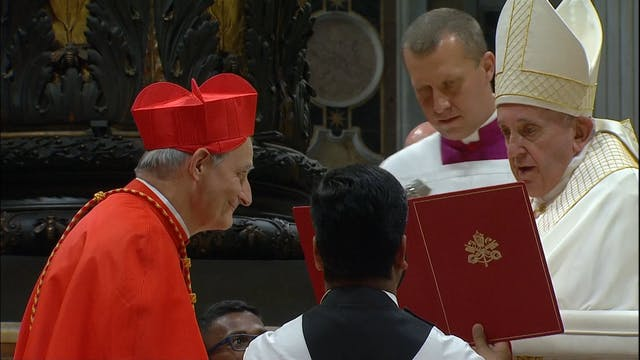 Cardenal Matteo Zuppi: El celibato no...
