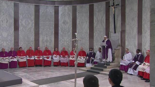 Papa en miércoles de ceniza: La Cuaresma es un despertador para el alma