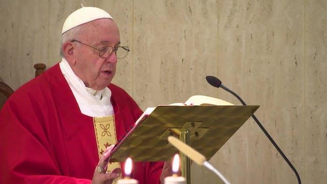Papa en Santa Marta: Cuando el obispo...