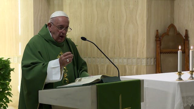 Pope in Santa Marta: Christ loves eve...