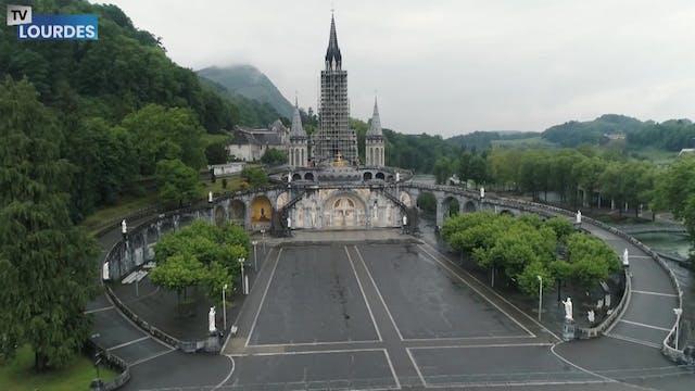 El Santuario de Lourdes reabre sus pu...