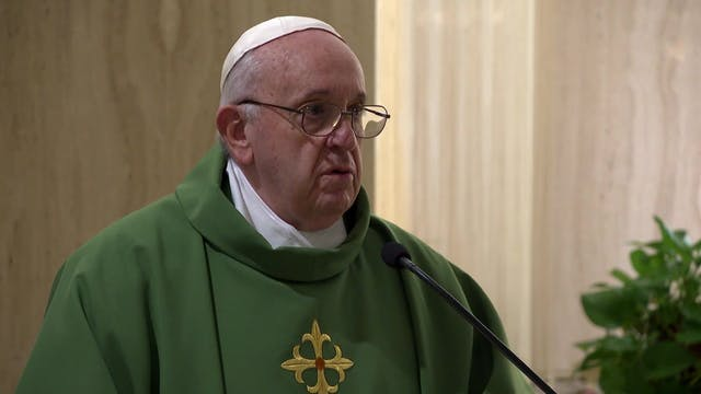 Pope at Santa Marta: Incoherent sheph...