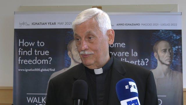 Arturo Sosa, general de los Jesuitas,...