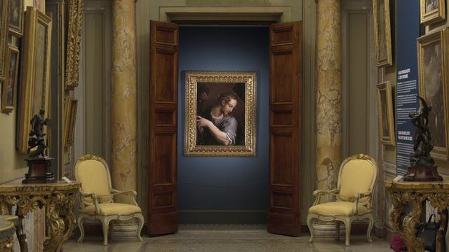 An Italian painting lost since the 17...