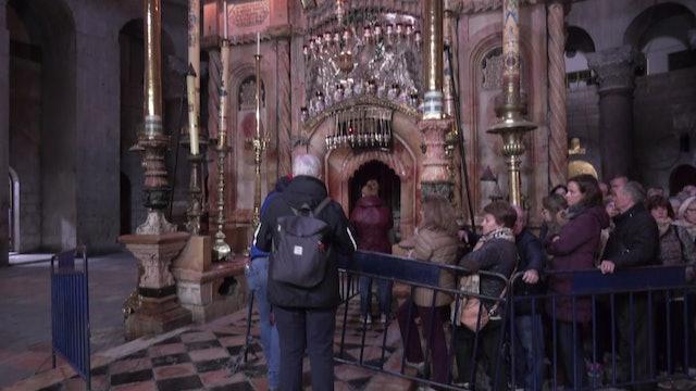 Guías turísticos de todas las religiones se forman juntos sobre la Tierra Santa