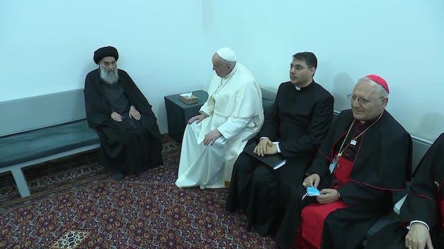 Historic meeting in Iraq: Pope Franci...