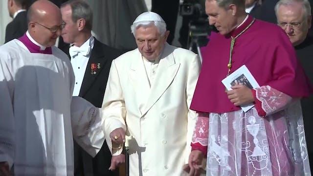 El Papa emérito Benedicto XVI cumple ...