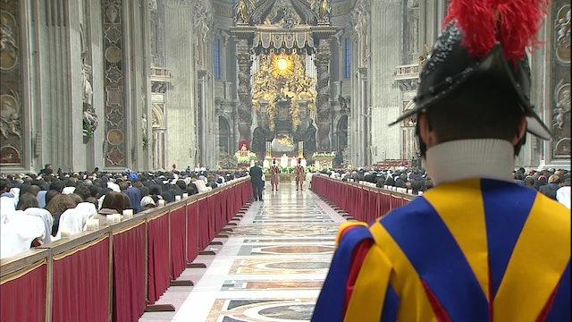 Papa celebrará este martes una misa por la Jornada Mundial de la Vida Consagrada