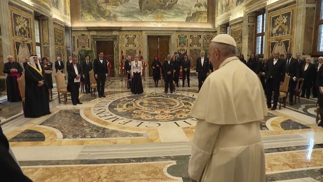 Pope to new ambassadors: we have a mo...