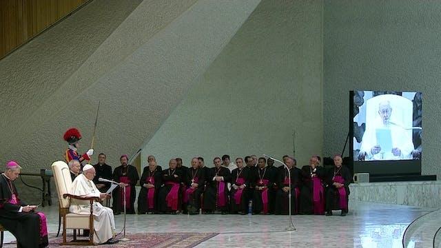 Papa sobre viaje a Emiratos: Una seña...