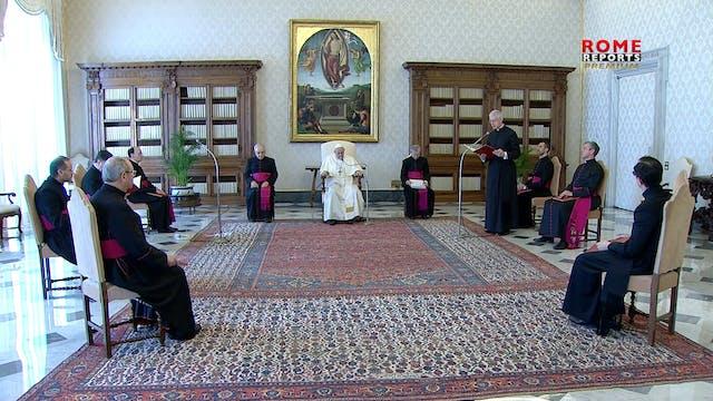 Pope Francis explains beatitude on pu...
