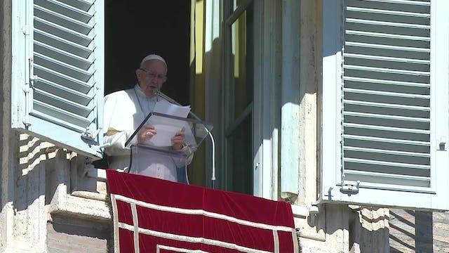 Pope in Angelus: we must combat sexua...