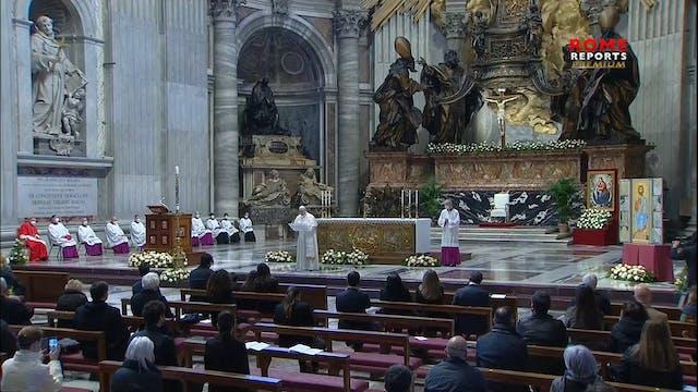 Francisco en la bendición Urbi et Orb...