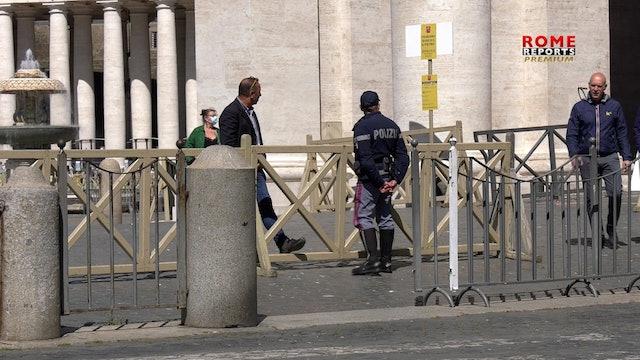 Pasaporte sanitario para entrar en el Vaticano, excepto para ceremonias papales