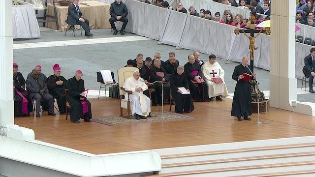 """El Papa explica el significado de la invocación """"líbranos del mal"""""""