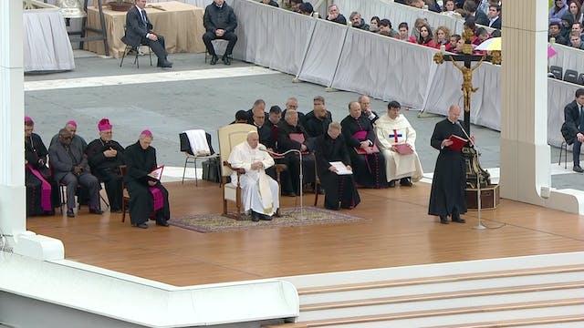 El Papa explica el significado de la ...