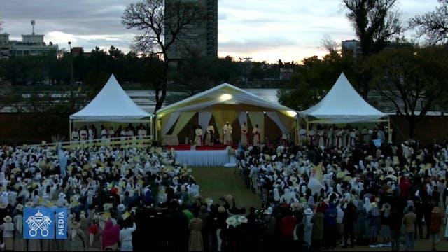 Papa a religiosas, seminaristas y sac...