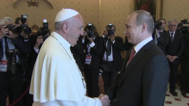 Possible themes for the meeting between Pope Francis and Putin