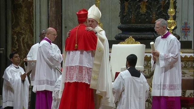 Francisco explica a nuevos cardenales qué causa grandes deslealtades en Iglesia
