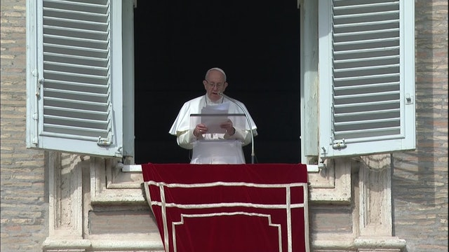 Papa en el Ángelus: Todos debemos denunciar la esclavitud