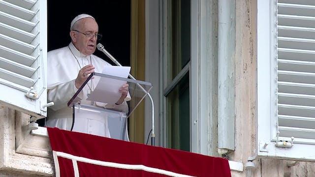 Papa en ángelus denuncia el atentado ...