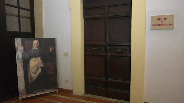 Rooms dedicated to St. Philip Neri op...